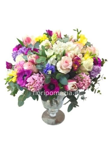 Acquisto Fiori On Line.Bouquet Con Fiori Assortiti Fiorista A Pomezia Acquisto Online